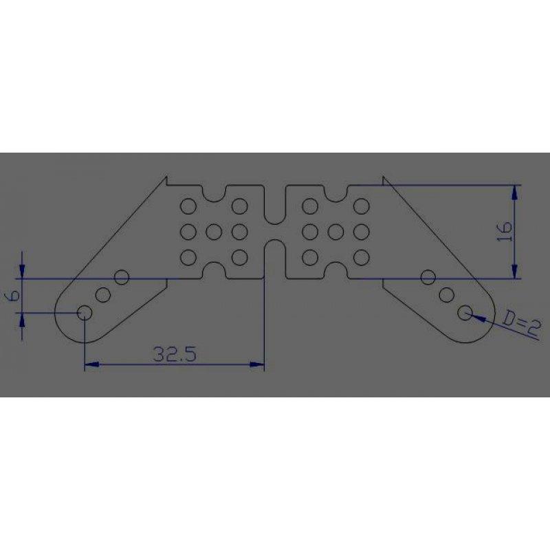 gfk ruderhorn gross mit auflage auslage 16x6mm 2mm gfk 6 paar 9 00. Black Bedroom Furniture Sets. Home Design Ideas