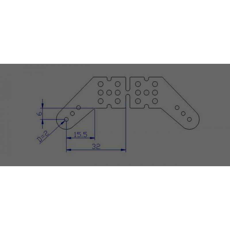 gfk ruderhorn paar gross auslage 15 5x6mm 2mm gfk 1 80. Black Bedroom Furniture Sets. Home Design Ideas